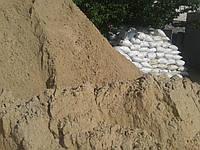Песок карьерный Катеринопиль в мешках