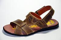Мужские кожаные босоножки, сандалии Timberland