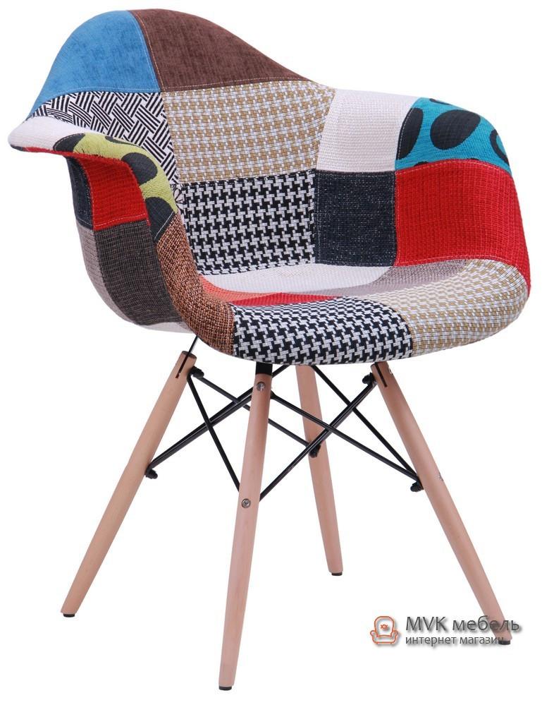 """Кресло """"Salex"""" (FB Wood) (печворк) - Мебель Вашего Комфорта в Киеве"""