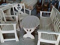 Комплект Стол 1000*500 М.Скамейка 1200 М.Стульчик М.Стульчик М