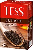 Чай Tess Sunrise (черный крупнолистовой) 90 г.