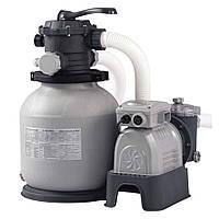 Песочный фильтр-насос Intex (25 кг - 10000 л/ч)