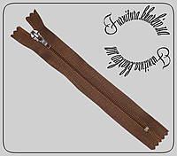 """Молния для обуви №7 """"Sigma"""" длина 18см коричневая"""