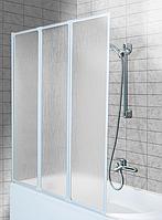 Шторка на ванну Aquaform STANDARD 3, профиль белый