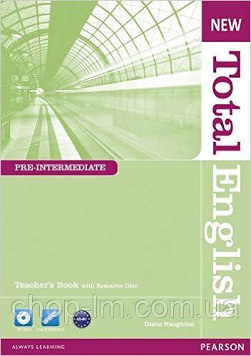 New Total English Pre-Intermedia Teacher's Book and Teacher's Resource Pack (книга для учителя с аудио диском)