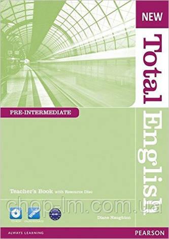 New Total English Pre-Intermedia Teacher's Book and Teacher's Resource Pack (книга для учителя с аудио диском), фото 2