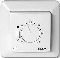 Механический терморегулятор для теплого пола DEVIreg 531 с датчиком температуры воздуха