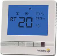 Програмований термостат для теплої підлоги Veria Control T45 з датчиком температури підлоги, фото 1