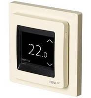 Сенсорный программируемый терморегулятор для теплого пола DEVIreg Touch (сл.кость) с датчиками пола и воздуха