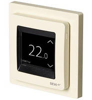 Сенсорный программируемый терморегулятор для теплого пола DEVIreg Touch (сл.кость) с датчиками пола и воздуха, фото 1
