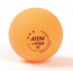 Шары для настольного тенниса Atemi оранжевые
