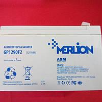 Аккумулятор Merlion 12V9Ah для бесперебойников UPS и детского электротранспорта.