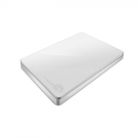 Seagate Backup Plus Slim 2TB biały + Rescue + Slim Case