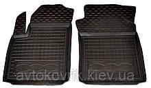Поліуретанові передні килимки в салон Fiat 500 2007- (AVTO-GUMM)