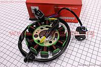Статор магнето 12 катушек на скутер 4т