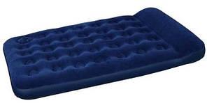 Bestway 67225 (191х137х22 см) Матрас надувной  со встроенным ножным насосом