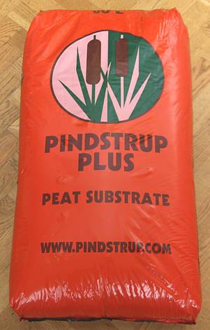 Светлый торф PINDSTRUP ORANGE  300л / Пиндструп Оренж (Дания) 55 кг; для высадки семян в кассеты, фото 2