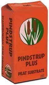 Светлый торф PINDSTRUP ORANGE  300л / Пиндструп Оренж (Дания) 55 кг; для высадки семян в кассеты