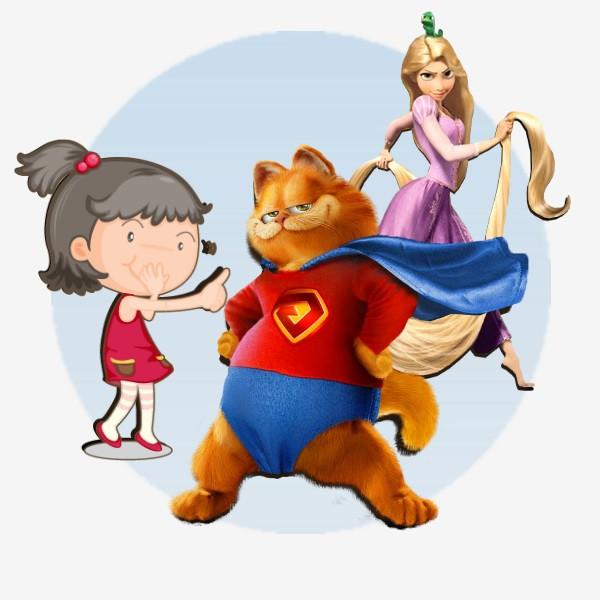 Любимые детские герои и персонажи на ваш праздник