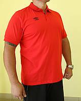 Мужская футболка Umbrо 510214-026 красная код 056В