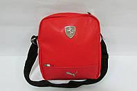Сумка Puma (072672-02) красная код 0386А