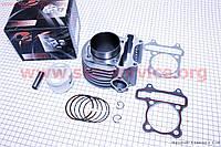 Цилиндр -57,4 мм в сборе  для  скутеров  4т  150 cc