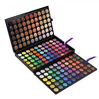 Палитра палетка теней для век на 180 цветов  (3 палетки в одной)