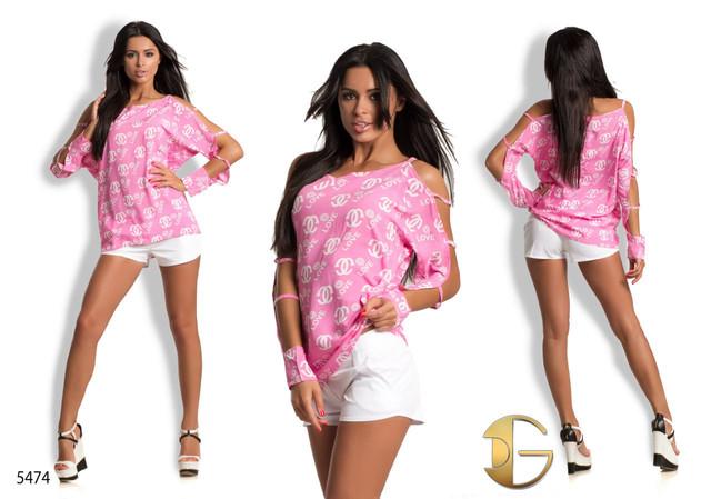 Женская блузка из штапеля