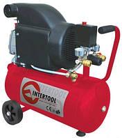Компрессор Intertool 24 литровый PT-0010