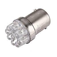 Светодиодная лампа 1156 (BA15s, P21W) 9-LED, 12В