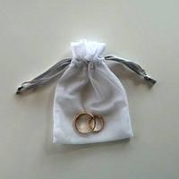 Мешочки свадебные (8х12 см.)