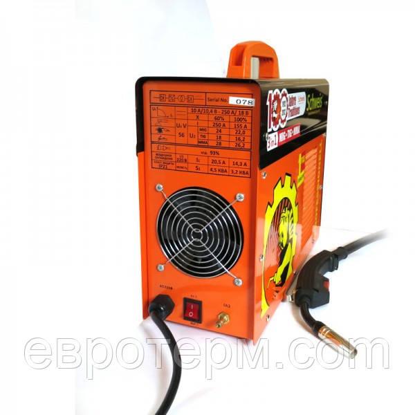 Сварочный инвертор Scheweis MIG 250 3 в 1 (полуавтомат,для сварки,Tig)
