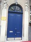 Металлические двери жатка со стеклопакетом и ковкой, фото 8