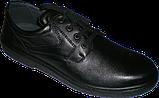 Чоловічі туфлі для ніг з високим підйомом, фото 2