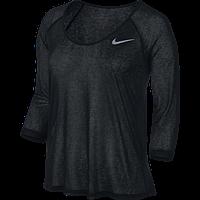 Женская футболка Nike Df Cool Breeze 3/4 Sleeve (Артикул: 719872-010), фото 1