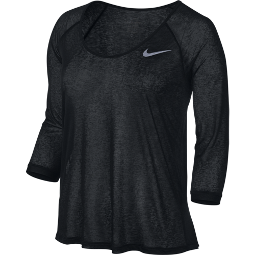 Женская футболка Nike Df Cool Breeze 3/4 Sleeve (Артикул: 719872-010)