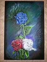Картина сувенир Розы