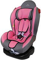 Детское автокресло Baby Shield Smat Sport II с поддоном темно-серый/розовый (0-25 кг)