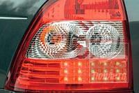 Задние светодиодные фонари на Лада Приора