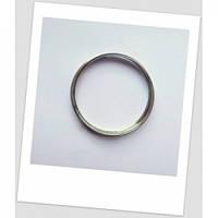 Мемори-проволока для браслета, стального цвета, 65 мм диаметром.