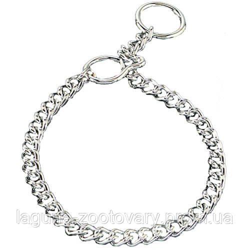 Sprenger ULTRA-2 ошейник цепь для собак, с блокировочным кольцом, 3 мм, хромированная сталь