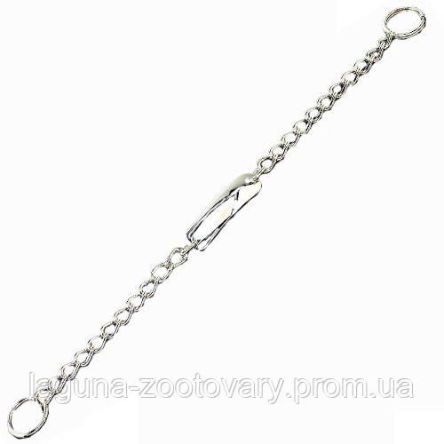 Sprenger с пластиной цепочка-ошейник 50см/3мм для собак