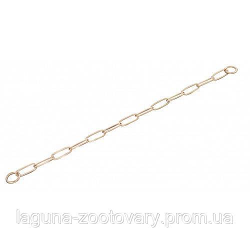 Sprenger Long Link ошейник-цепь 62см/3мм для собак, широкое звено, куроган сталь