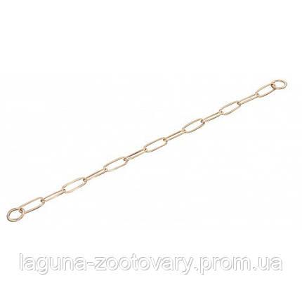 Sprenger Long Link ошейник-цепь 62см/3мм для собак, широкое звено, куроган сталь, фото 2