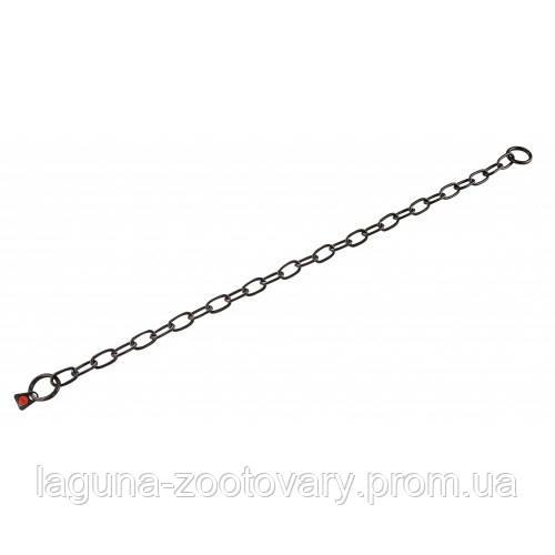 Sprenger Long Link ошейник 61см/3мм для собак, среднее звено, черная сталь