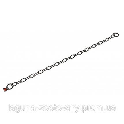 Sprenger Long Link ошейник 61см/3мм для собак, среднее звено, черная сталь, фото 2
