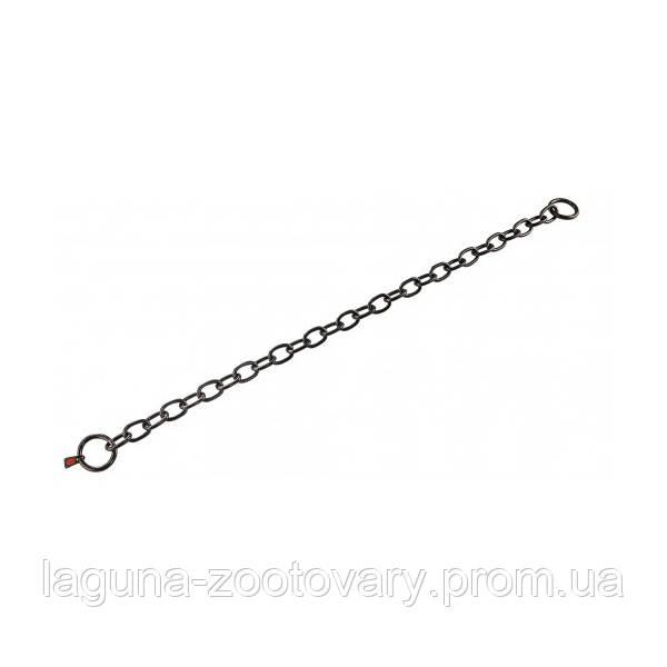 Sprenger Long Link ошейник 74см/4мм для собак, среднее звено, черная сталь