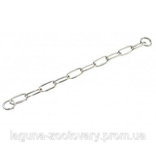Sprenger Extra Long Link ошейник 63см/4мм для собак, широкое звено, хромированная сталь