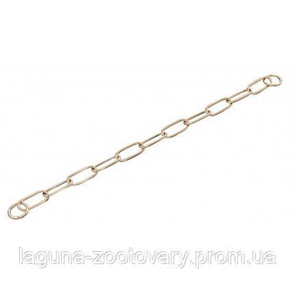 Sprenger Extra Long Link ошейник цепочка 63см/4мм для собак, широкое звено, куроган сталь, фото 2