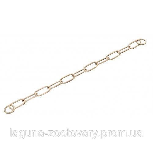 Sprenger Extra Long Link ошейник цепочка 76см/4мм для собак, широкое звено, куроган сталь